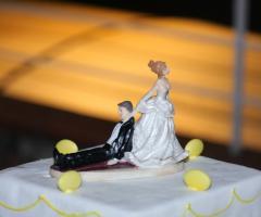 Cake topper sposini