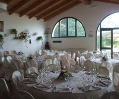 Borgo La Fratta - La sala dei ricevimenti
