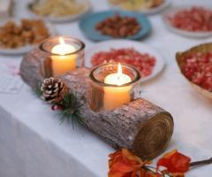 Emozioni Wedding Planner - Decorazioni rustiche per i tavoli