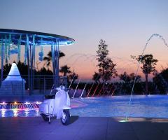 Villa Reale Ricevimenti - la piscina di sera
