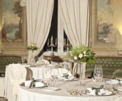 Villa Boscogrande - Tavoli per gli invitati al matrimonio