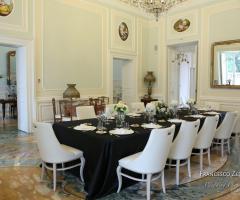 Villa Ciardi - Allestimento in nero