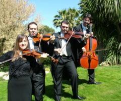 Quartetto d'archi per il matrimonio