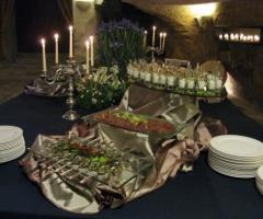 Masseria Torre Coccaro - Buffet di pesce per il ricevimento di matrimonio