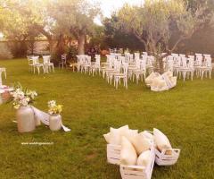 Masseria Cariello Nuovo - La cerimonia di nozze in giardino
