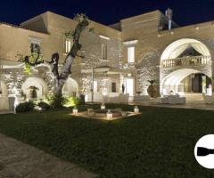 Masseria per il ricevimento di nozze in Puglia