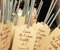 Masseria Grieco - Le stelline scintillanti per la festa di nozze