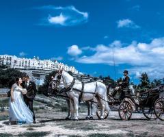Istanti Fotografia - Matrimonio in carrozza