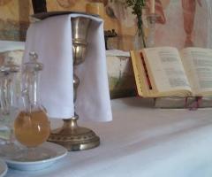 Masseria Montepaolo - L'altare