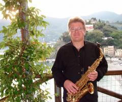Duo Giancarlo Music - Giancarlo con il sax per l'intrattenimento musicale