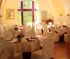 Villa Torrequadra - Mise en place per il ricevimento di nozze