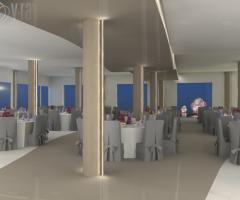 Kora Pool and Beach Events - Sala interna per il banchetto di nozze a Napoli