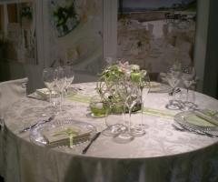 Cerimonie D'Incanto Wedding & Events Planner - Mise en place verde per le nozze