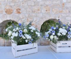 Masseria Grieco - Gli addobbi floreali