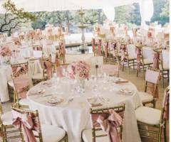 Grand Hotel Vigna Nocelli Ricevimenti - Allestimento in rosa
