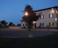 Villa Fabio - La location di sera