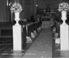 Il Sogno - Laboratorio Floreale - addobbo in chiesa