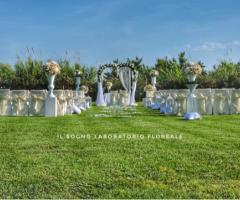 Il Sogno - Laboratorio Floreale - Fiori e decorazioni per il rito civile all'aperto