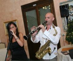 Open Project - Trio musicale - Cantante e sax durante un matrimonio