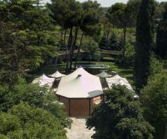 Casa Isabella - Vista dall'alto del gazebo