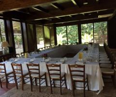 Masseria Montepaolo - La sala del ricevimento
