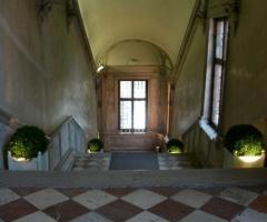 Interno della location di nozze a Venezia