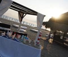 Castello Miramare - Aperitivo sulla spiaggia