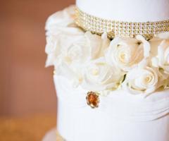 Le Rose di Zucchero Filato - La torta nuziale