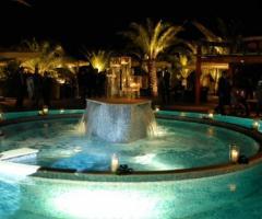 Giardini Venusio - Piscina della location di matrimonio
