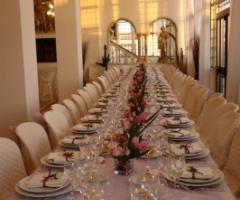 Tavolo per il ricevimento di matrimonio