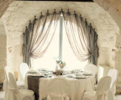 Masseria Grieco - II tavolo degli invitati