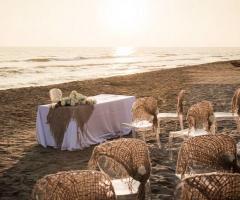 Le Rose di Zucchero Filato - Cerimonia civile sul mare
