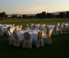 Ricevimento di matrimonio nel campo da golf della Masseria