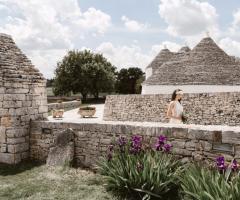Grand Hotel La Chiusa di Chietri - Il paesaggio caratteristico pugliese per la sposa