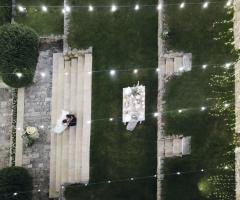 Villa San Martino - Gli sposi dall'alto