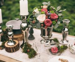 Le Rose di Zucchero Filato - Allestimenti dettagli
