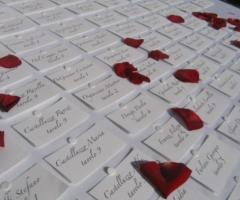 Segnaposti per le nozze