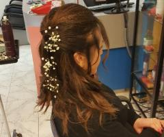 Rosa Laguardia Hair Style - Prove di acconciatura