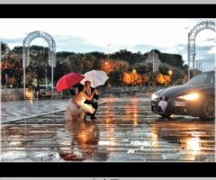 Studio Fotografico Dino Mottola - Sposarsi sotto la pioggia