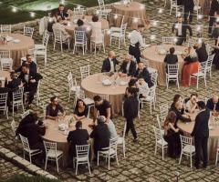 Masseria Luco - Ricevimento di nozze di sera