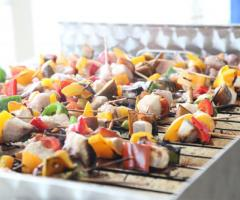 Kora Pool and Beach Events - Spiedini per il menu di matrimonio
