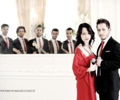 Band musicale per l'intrattenimento del matrimonio
