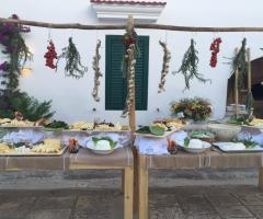 Masseria San Nicola - Allestimento del buffet