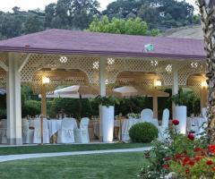 Imperatore di Puglia - La sala  per il ricevimento all'aperto