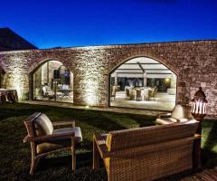 Masseria Bonelli - Esterno relax per gli sposi e invitati