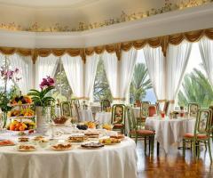 Royal Hotel Sanremo - La sala colazione