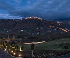 Bouganville Ricevimenti Potenza - Un vista panoramica di Picerno