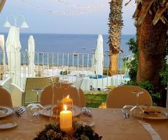 Grotta del Conte - Il ricevimento di nozze sul mare