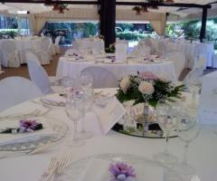 Villa del Vecchio Pozzo - Tavoli per il ricevimento di nozze