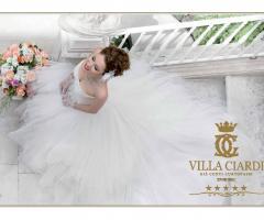 Villa Ciardi - Sposa all'entrata della Villa